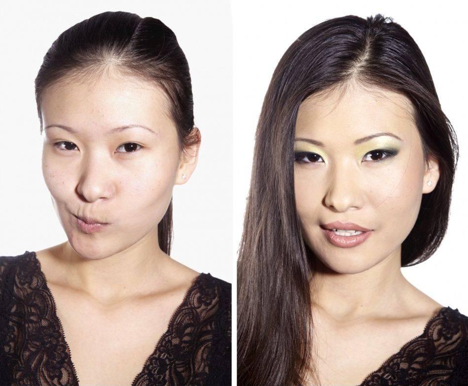Как убрать носогубные складки с помощью макияжа - красота и здоровье